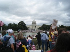 A recent protest in Washington D.C.